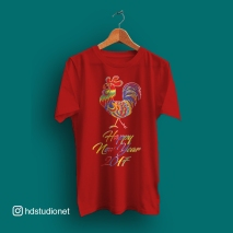 rooster_colorful_red