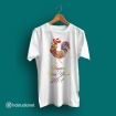 rooster_colorful_white